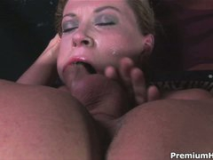 Big racked Sara Stone throat screwed