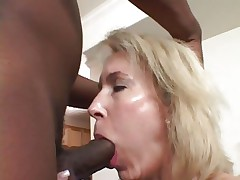 Tempting Erica Lauren receives her slippery throat slammed