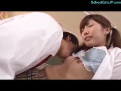 Schoolgirl Licked And Fingered By Schoolguy In The Classroom