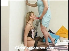 Sara&Amelia pussyloving mature in action