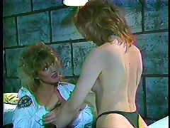 Here's a classic! The female guardian is in inspection, making sure her convict is behaving. She decides to give that bitch a treatment and licks her pussy while taking care of her own. Find out what these bitches are going to do in the prison cell and if they will have any horny visitors!