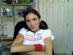 Teen Webcam Gal at home