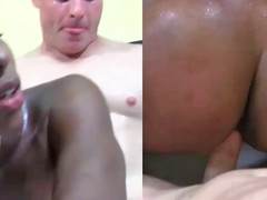 Shae Spreadz giving head and getting stuffed by white fellow