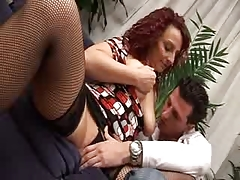 Italian Mommy And Guy