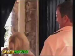 Golden-haired MILF Beverly Lynne sucks older dudes shlong and receives fucked