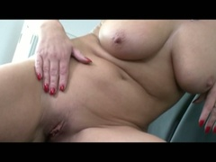 Horny busty blonde morgan reigns gets drilled