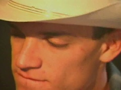 Homo cowboy blowjobs and ass pounding